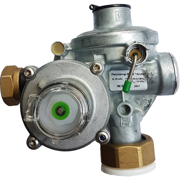 регулятор давления газа производство